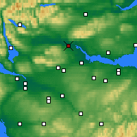 Nearby Forecast Locations - Stirling - Χάρτης