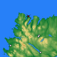 Nearby Forecast Locations - Durness - Χάρτης