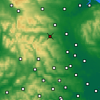 Nearby Forecast Locations - Leyburn - Χάρτης