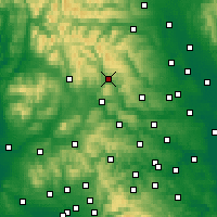 Nearby Forecast Locations - Grassington - Χάρτης