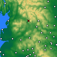 Nearby Forecast Locations - Settle - Χάρτης