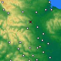 Nearby Forecast Locations - Richmondshire - Χάρτης
