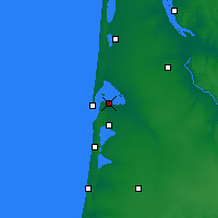 Nearby Forecast Locations - Arcachon - Χάρτης