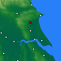 Nearby Forecast Locations - Driffield - Χάρτης