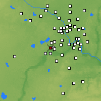 Nearby Forecast Locations - Chanhassen - Χάρτης