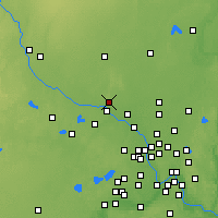 Nearby Forecast Locations - Elk River - Χάρτης