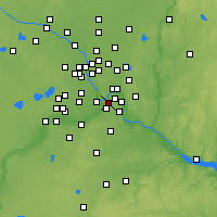 Nearby Forecast Locations - Mendota Heights - Χάρτης