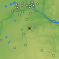 Nearby Forecast Locations - Northfield - Χάρτης