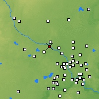 Nearby Forecast Locations - Otsego - Χάρτης