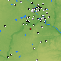Nearby Forecast Locations - Prior Lake - Χάρτης