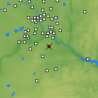 Nearby Forecast Locations - Rosemount - Χάρτης