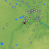 Nearby Forecast Locations - Shakopee - Χάρτης