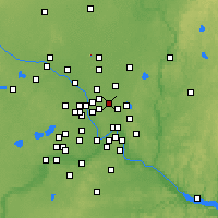 Nearby Forecast Locations - Shoreview - Χάρτης