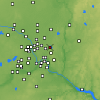 Nearby Forecast Locations - White Bear Lake - Χάρτης