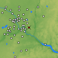 Nearby Forecast Locations - Woodbury - Χάρτης