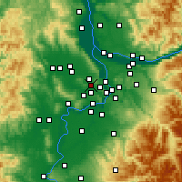 Nearby Forecast Locations - Tigard - Χάρτης