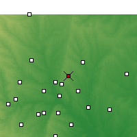 Nearby Forecast Locations - Plano - Χάρτης