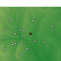 Nearby Forecast Locations - Garland - Χάρτης