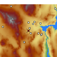 Nearby Forecast Locations - Enterprise - Χάρτης