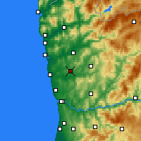 Nearby Forecast Locations - Vila Nova de Famalicão - Χάρτης