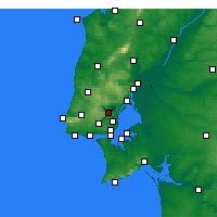 Nearby Forecast Locations - Loures - Χάρτης
