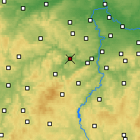 Nearby Forecast Locations - Beroun - Χάρτης
