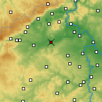 Nearby Forecast Locations - Louny - Χάρτης