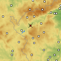 Nearby Forecast Locations - Sokolov - Χάρτης