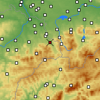Nearby Forecast Locations - Třinec - Χάρτης