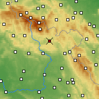 Nearby Forecast Locations - Trutnov - Χάρτης