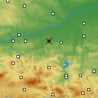 Nearby Forecast Locations - Bochnia - Χάρτης