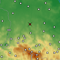 Nearby Forecast Locations - Bolesławiec - Χάρτης