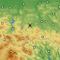 Nearby Forecast Locations - Gorlice - Χάρτης