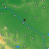 Nearby Forecast Locations - Jelcz-Laskowice - Χάρτης
