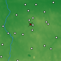 Nearby Forecast Locations - Konstantynów Łódzki - Χάρτης