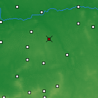 Nearby Forecast Locations - Pleszew - Χάρτης