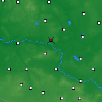 Nearby Forecast Locations - Sulechów - ������