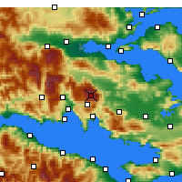 Nearby Forecast Locations - Παρνασσός - Χάρτης