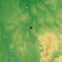 Nearby Forecast Locations - Saint-Fargeau - Χάρτης