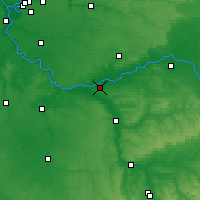 Nearby Forecast Locations - Montereau-Fault-Yonne - Χάρτης