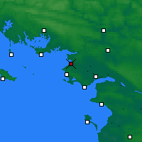 Nearby Forecast Locations - Mesquer - Χάρτης