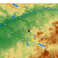 Nearby Forecast Locations - Montilla - Χάρτης