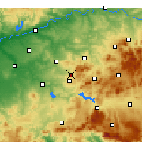 Nearby Forecast Locations - Cabra - Χάρτης