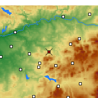 Nearby Forecast Locations - Baena - Χάρτης