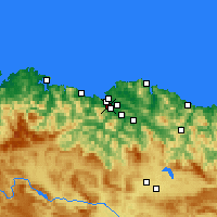 Nearby Forecast Locations - Sestao - Χάρτης