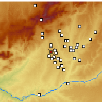 Nearby Forecast Locations - Boadilla del Monte - Χάρτης