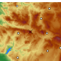 Nearby Forecast Locations - Simav - Χάρτης