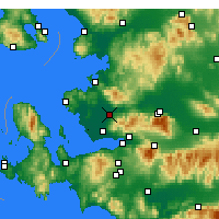 Nearby Forecast Locations - Menemen - Χάρτης