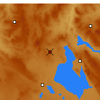 Nearby Forecast Locations - Kulu - Χάρτης