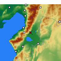 Nearby Forecast Locations - Kırıkhan - Χάρτης